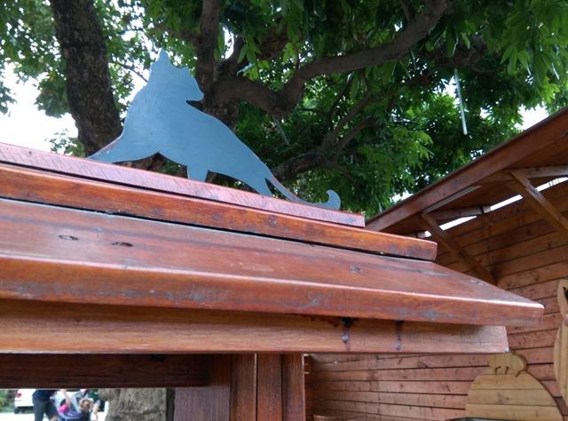 051 虎尾-頂溪 屋頂上的貓 可愛的彩繪社區