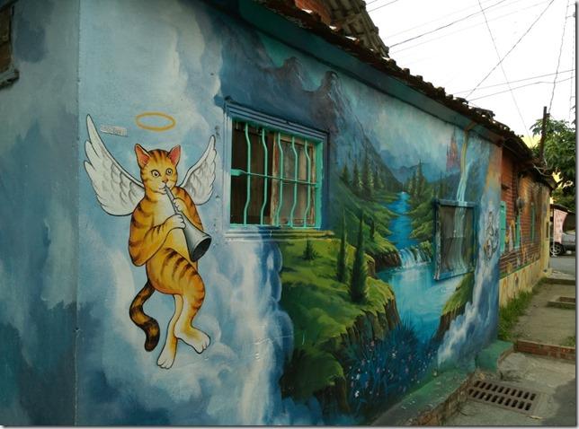 08_thumb1 虎尾-頂溪 屋頂上的貓 可愛的彩繪社區