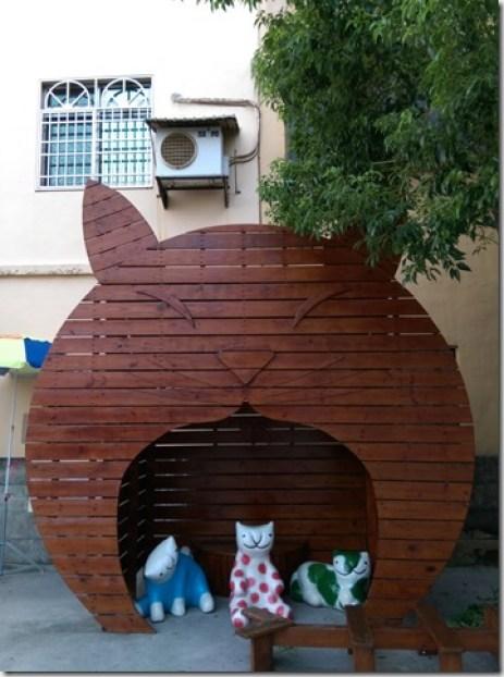09_thumb1 虎尾-頂溪 屋頂上的貓 可愛的彩繪社區
