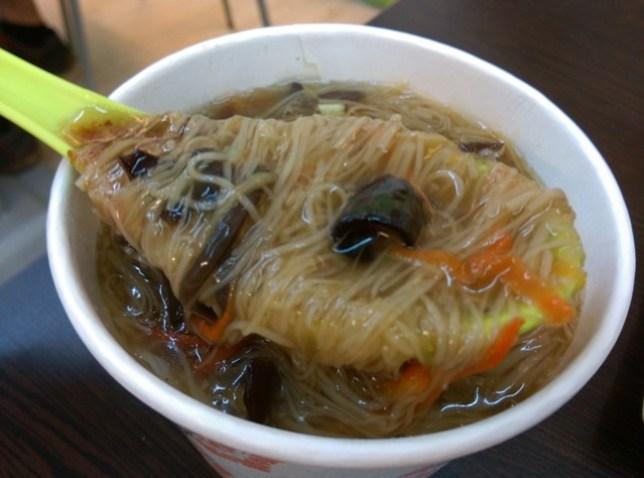 IMAG6101 中壢-得來素 早餐也有素食可以吃喔!