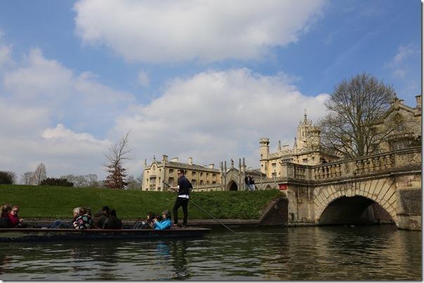 ponting15_thumb Cambridge-再見康橋 許多年後的劍橋 依舊美麗 搭船遊康河