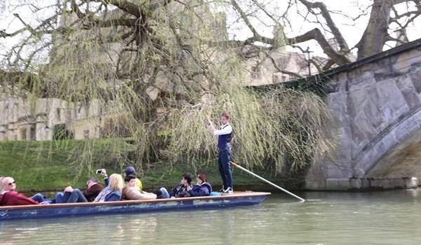 Cambridge-再見康橋 許多年後的劍橋 依舊美麗 搭船遊康河