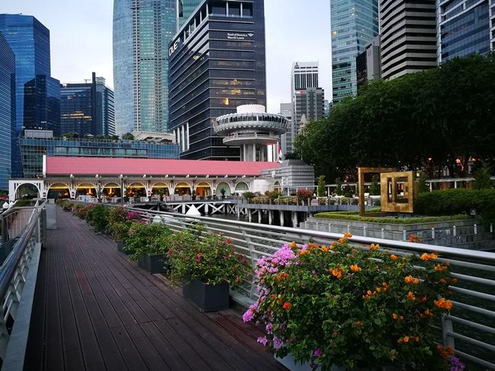 marinabay13 Singapore-Marina Bay晨景 感受新加坡最美的濱海灣