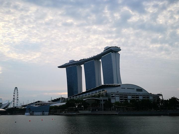 marinabay23 Singapore-Marina Bay晨景 感受新加坡最美的濱海灣