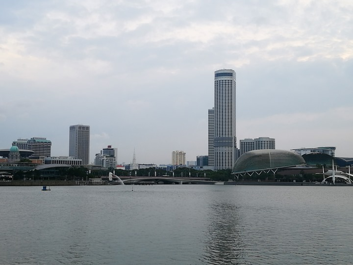 marinabay26 Singapore-Marina Bay晨景 感受新加坡最美的濱海灣