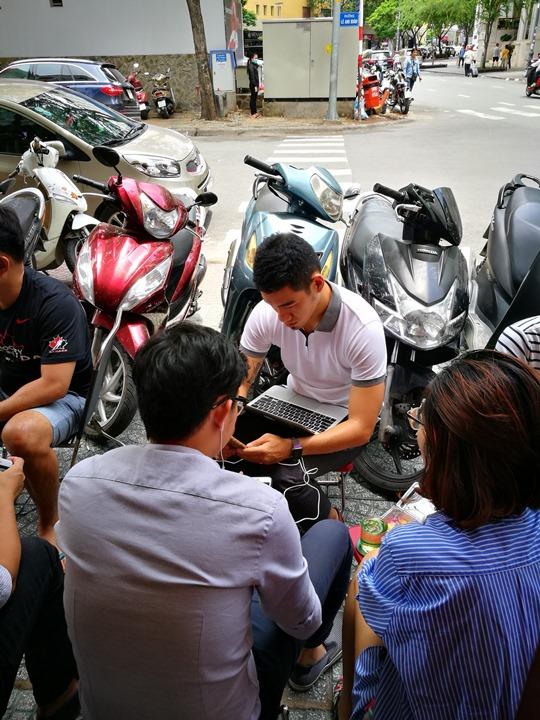 caphevy06 HoChiMinh-Cafe Vy胡志明人愛咖啡 坐小板凳也要喝