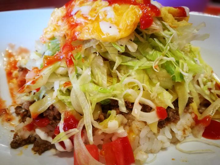 tacorice11 Okinawa-きじむな Taco Rice琉球美國村 融合墨西哥與日本的創意料理 塔可飯