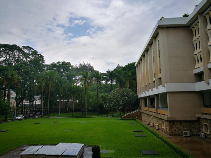 independancepalace070115 HoChiMinh-獨立宮 歷史意義大過建築之美的胡志明必訪景點