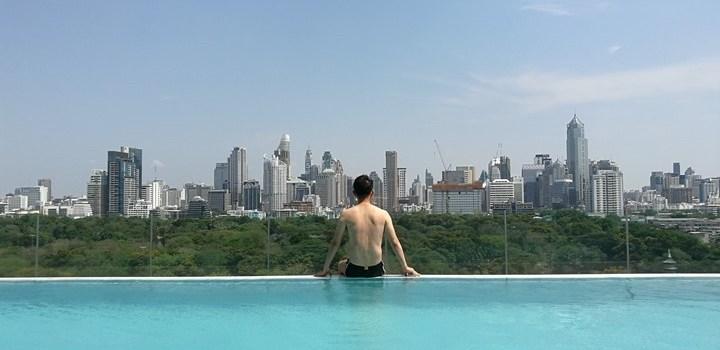Bangkok-曼谷So Sofitel服務優環境舒適 泳池一級棒