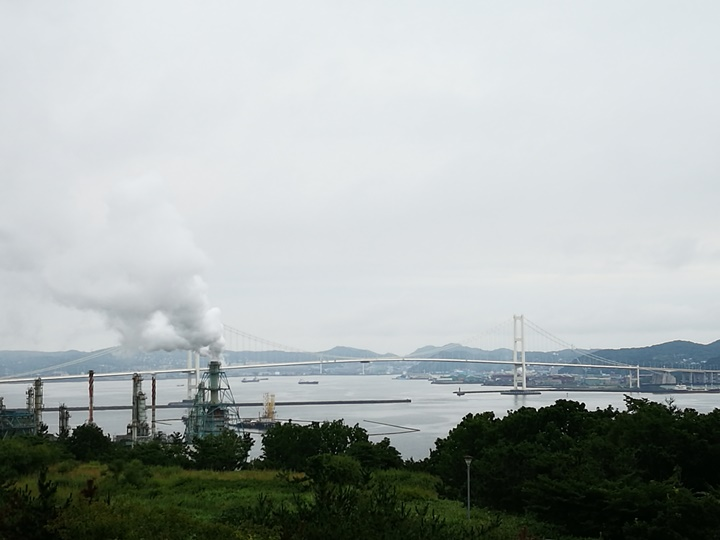 earthcape22-1 Muroran-北海道室蘭美景 地球岬/金屏風/白鳥大橋