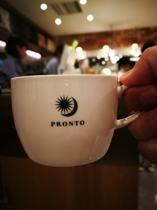 pronto4 Sapporo-Pronto Cafe札幌車站地下街簡單咖啡廳