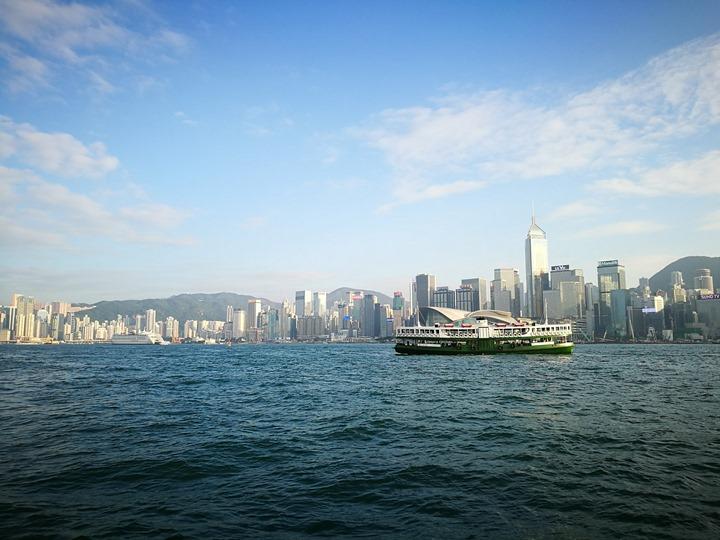 starferry09 HK-天星小輪 承載港人來往兩岸 欣賞維多利亞港美景