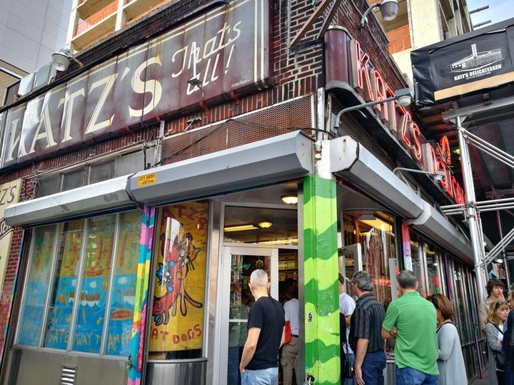katzs02 New York-果真大蘋果之紐約真好玩 最好吃的燻牛肉三明治Katz's Delicatessen