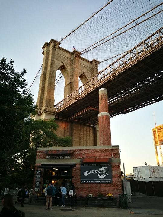 lukes02 New York-果真大蘋果之紐約真好玩 布魯克林橋下美食多Luke's Lobster&Brooklyn Ice Cream Factory