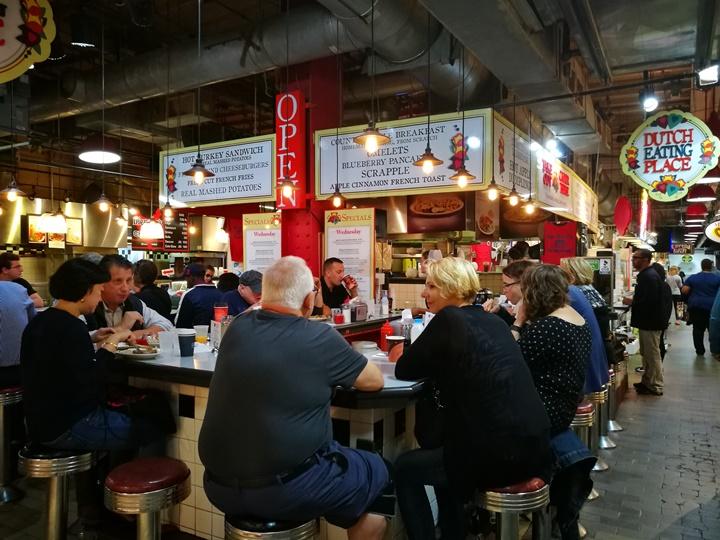 readingmarket01 Philadelphia-費城必訪Reading Terminal Market吃Amish餐廳Dutch Eating Place特色Apple Dumplings