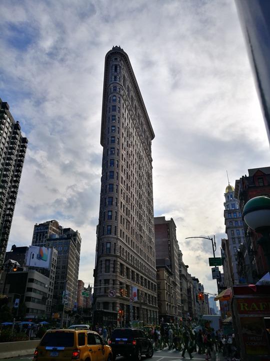 flatiron080107 New York-果真大蘋果之紐約真好玩 地標Flatiron熨斗大樓