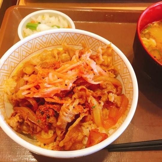 sukiya117 士林-すき家 平價日式丼飯