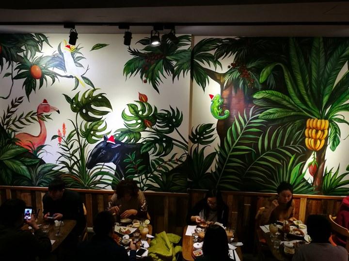 thaihand02 中正-不吃公館夜市 吃右手Thaihand泰式定食 服務態度很棒食物就...小失望