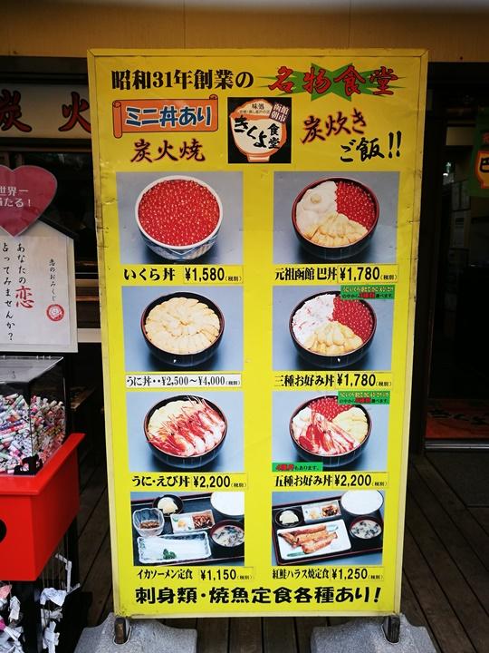 hakodatemorningmarket19 Hakodate-有趣函館朝市&きくよ食堂的海鮮丼飯 北海道必吃