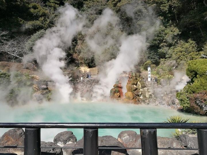 Beppu05-1 Beppu-別府地獄之旅 海地獄&血の池地獄 這明明就地熱谷...