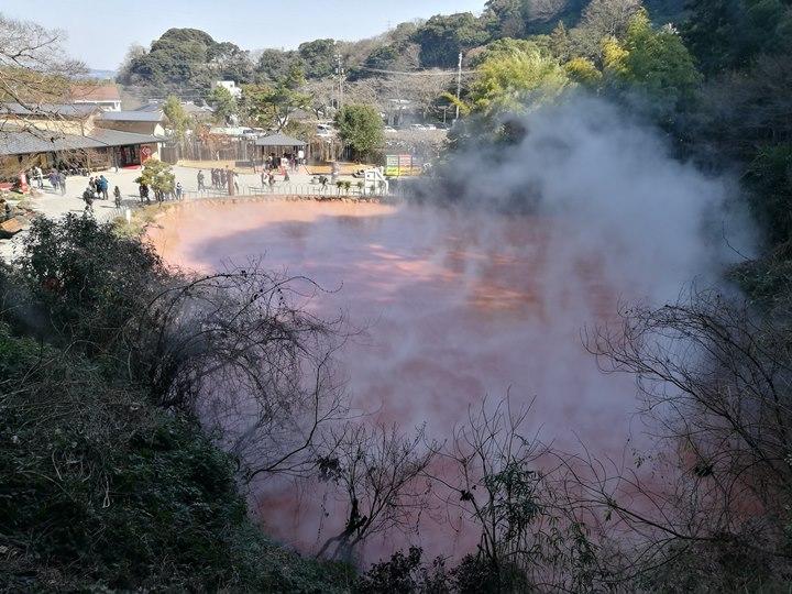 Beppu26-1 Beppu-別府地獄之旅 海地獄&血の池地獄 這明明就地熱谷...