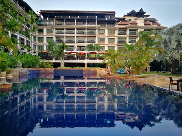 angkormiracle36 Siem Reap-暹粒Angkor Miracle Reflection Club中韓大媽過境無敵吵雜的早餐
