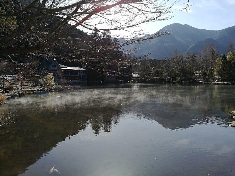 kinrinko01 Yufuin-金鱗湖 由布院第一美景 飄渺夢幻的小池塘