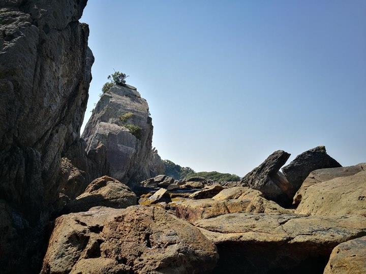 Hashiguiiwa0116-1 Kushimoto-橋杭岩 和歌山串本地質奇景