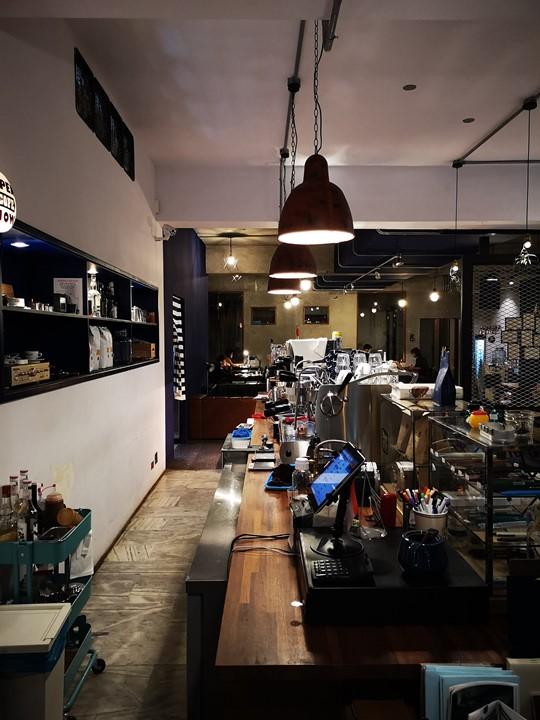 dawncafe19 新竹-續日Cafe 低調靜謐的工業風 清爽細緻的單品咖啡