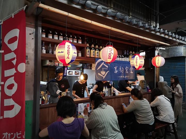 donmenmarket3 新竹-老市場新氣象 文創風走進老東門市場...享初食堂 賣大腸麵線的居酒屋