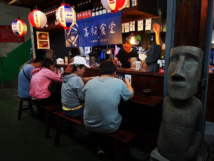 donmennnn12 新竹-老市場新氣象 文創風走進老東門市場...享初食堂 賣大腸麵線的居酒屋