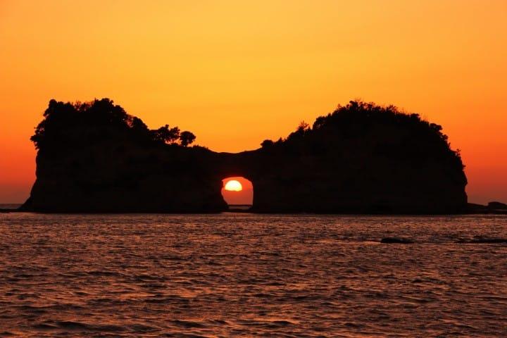 takashima3101 Shirahama-和歌山円月島 欣賞白濱最迷人的夕陽