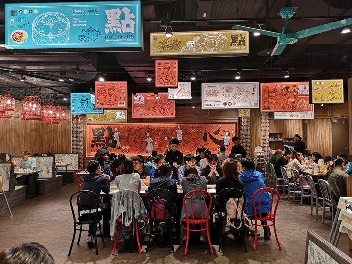 dimdimsum07 新竹-點點心 港點名店巨城拓點 新開幕的人龍也太長