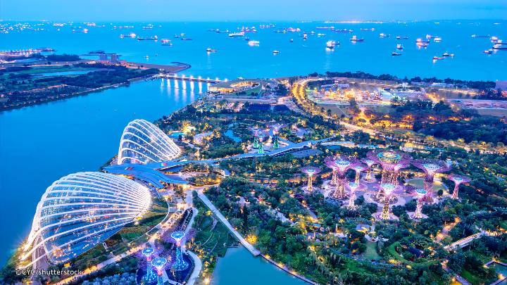 gardens-by-the-bay88 Singapore-Gardens by the Bay之Flower Dome/Cloud Forest新加坡的巨大溫室...盛夏最好的去處