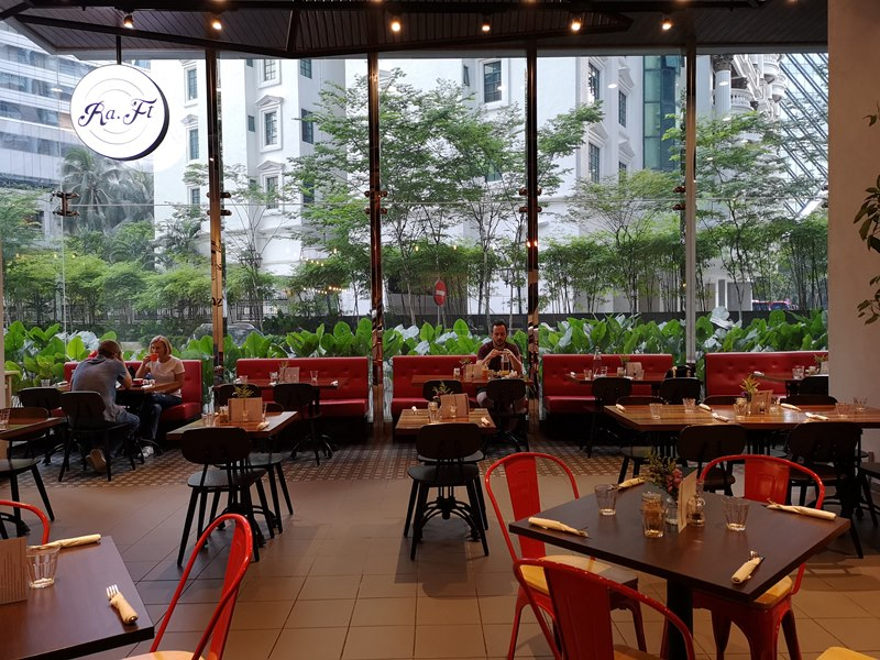 RAFT02 Kuala Lumpur-Ra Ft Cafe好舒適的環境 但不吉隆坡的價格