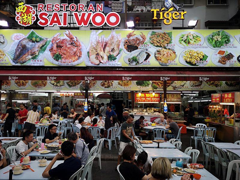 WAW06 Kuala Lumpur-吉隆坡必訪亞羅街夜市街 名店黃亞華 推薦烤雞翅與鹹蛋魷魚