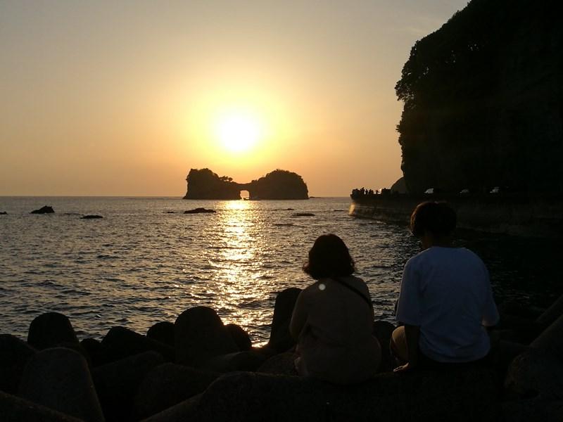 takashima3108 Shirahama-和歌山円月島 欣賞白濱最迷人的夕陽