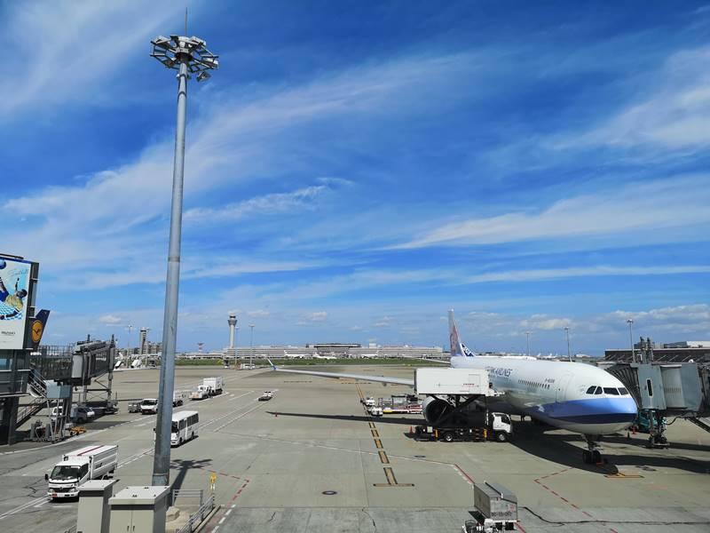201808HND01 201808松山羽田成田桃園  A350-900首搭乘