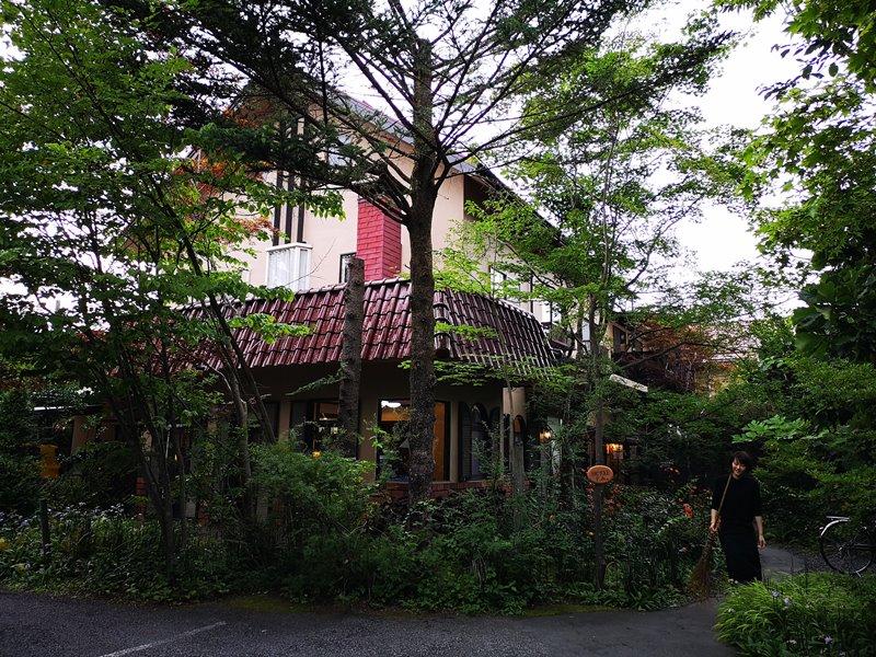 maruyama01 Karuizawa-來喝冠軍咖啡 丸山咖啡輕井澤本店 綠意盎然的林間小屋 環境佳咖啡香
