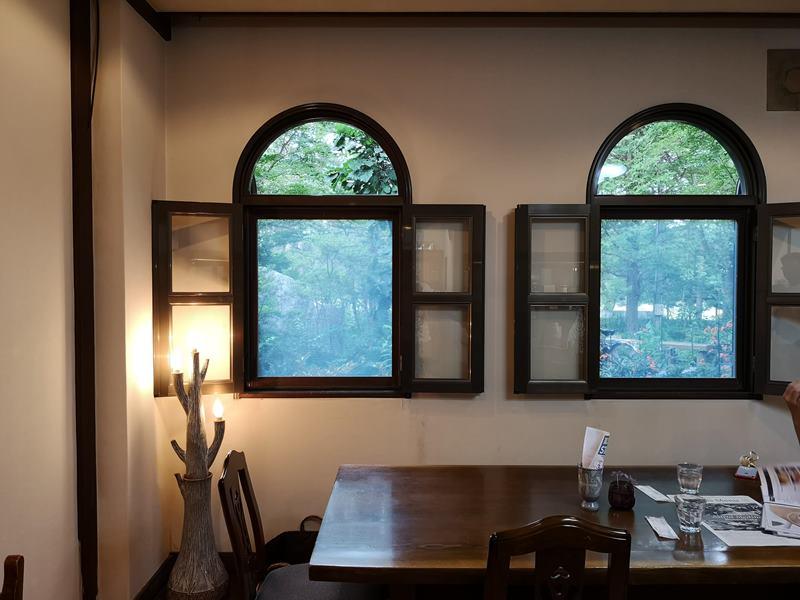maruyama08 Karuizawa-來喝冠軍咖啡 丸山咖啡輕井澤本店 綠意盎然的林間小屋 環境佳咖啡香