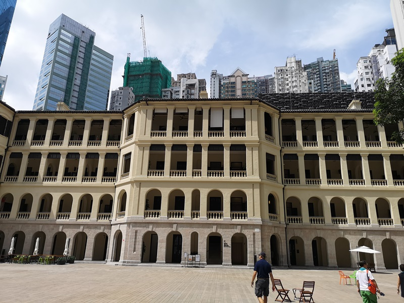 taikwun05 HK-大館 香港古蹟活化 警署監獄進化成觀光景點