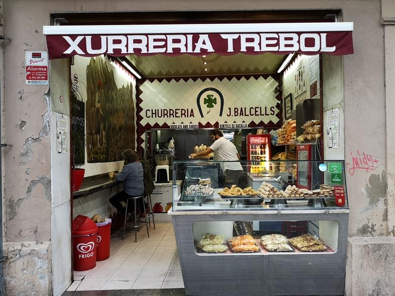 XurreriaTrebol01 Barcelona-Xurreria Trebol巴塞隆納的吉拿棒專家...好好吃