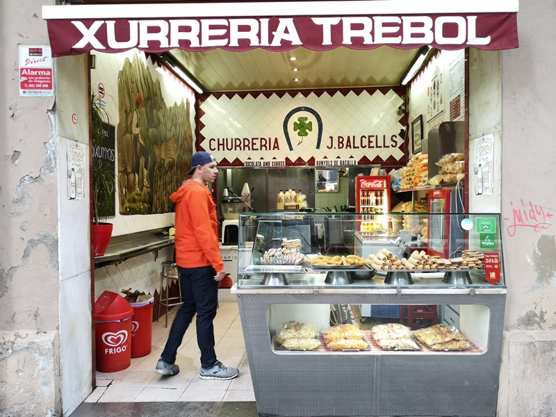 XurreriaTrebol02 Barcelona-Xurreria Trebol巴塞隆納的吉拿棒專家...好好吃
