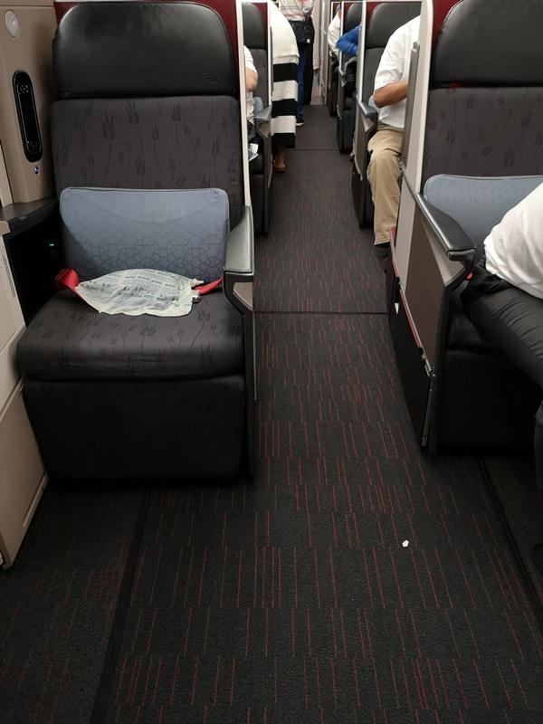 flytk025380107 201810台北伊斯坦堡巴塞隆納 TK025商務艙飛行