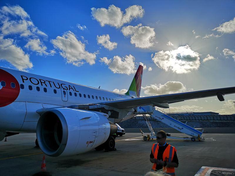 flytp22 201810葡萄牙航空TP364只能說網路說的都是真的...只有delay還是delay