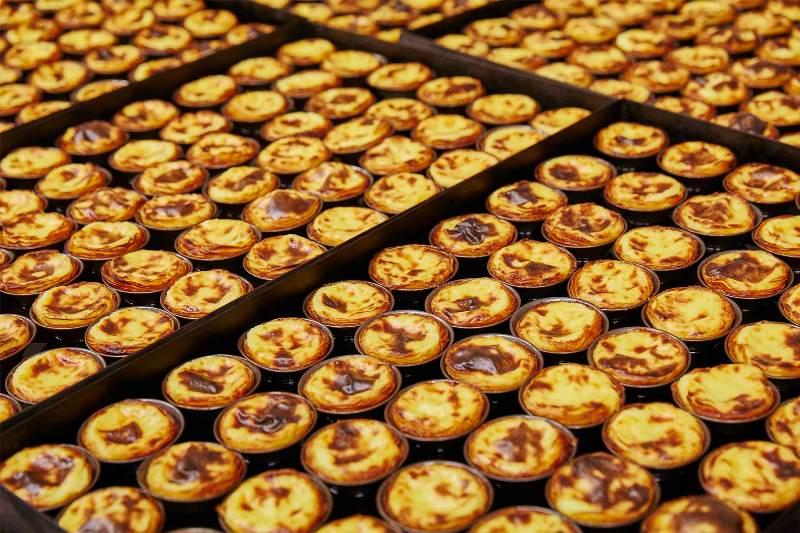 pasteis_fabrico Lisbon-貝倫蛋塔 里斯本必吃蛋塔創始店 Casa Pasteis De Belem外酥內香醇軟嫩好好吃
