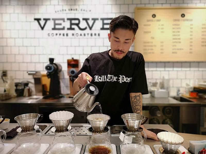 vervecoffee01 Shinjuku-新宿車站Verve Coffee Roasters加州來的咖啡Bar不只吸睛人氣滿分
