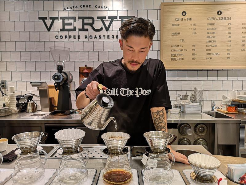 vervecoffee18 Shinjuku-新宿車站Verve Coffee Roasters加州來的咖啡Bar不只吸睛人氣滿分