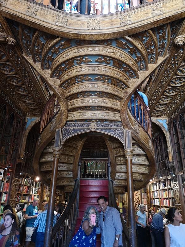 bookstore06 Porto-Livraria Lello波多 世界最美書店之一 JK羅琳加持的波多必遊景點