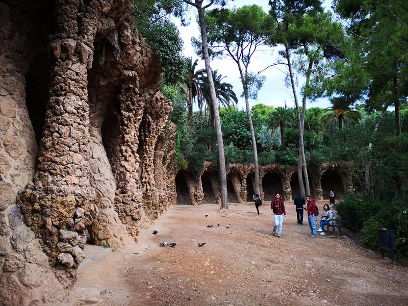guellparkk06 Barcelona-巴塞隆納世界文化遺產  高第建築奎爾公園馬賽克蜥蜴太吸睛